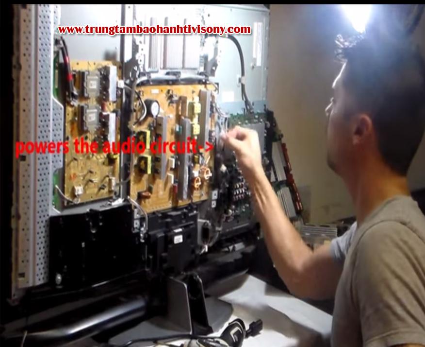 Sửa nguồn tivi sony tại nhà ở Hà Nội