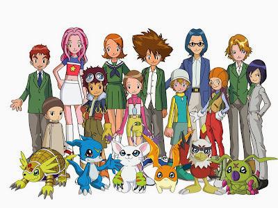 Poster Digimon Adventure 02