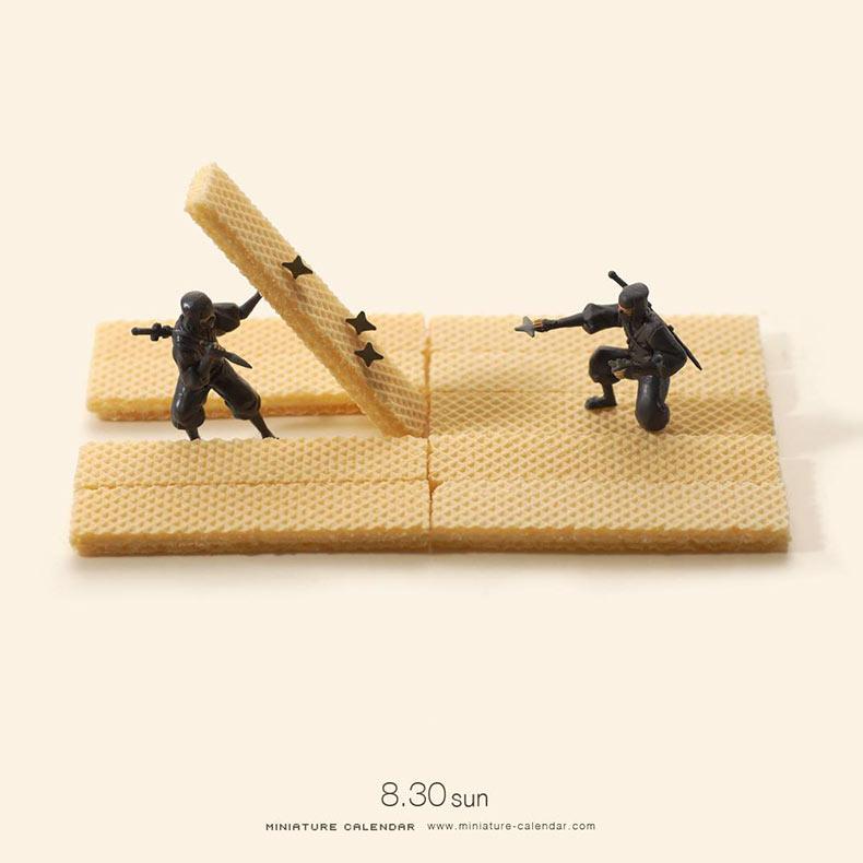 Los más destacados del proyecto fotografico Daily Miniature del artista Tatsuya Tanaka