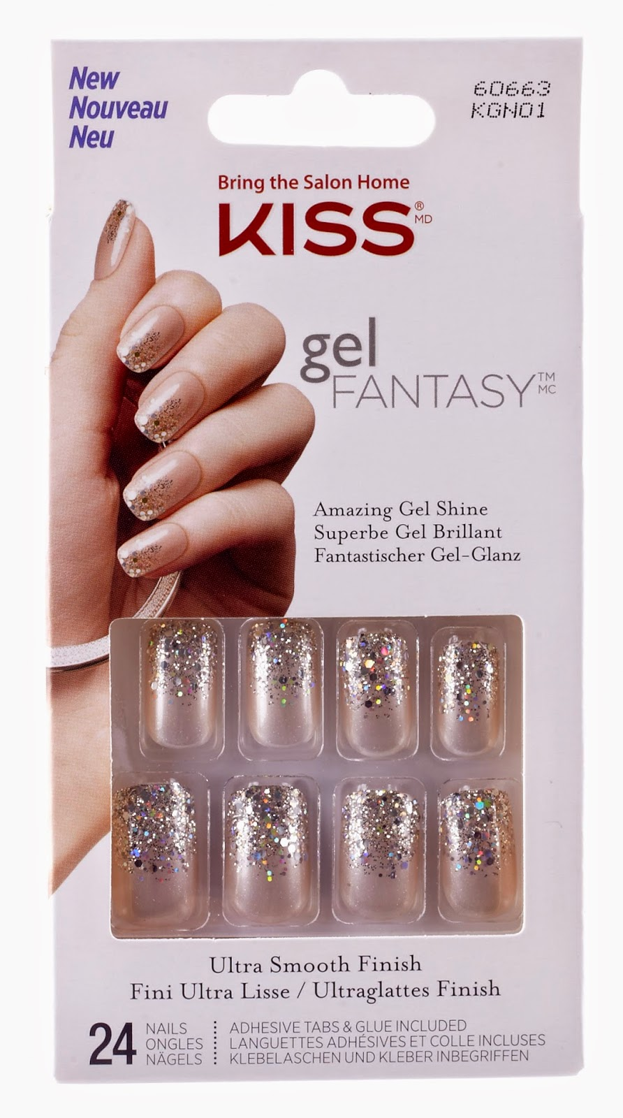 Get Holiday Glam With Kiss And Broadway Nails It S