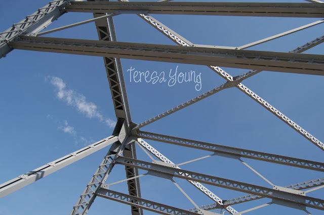 Michigan Street steel bridge drawbridge Memorial Bridge SBSF Sturgeon Bay Door County Wisconsin