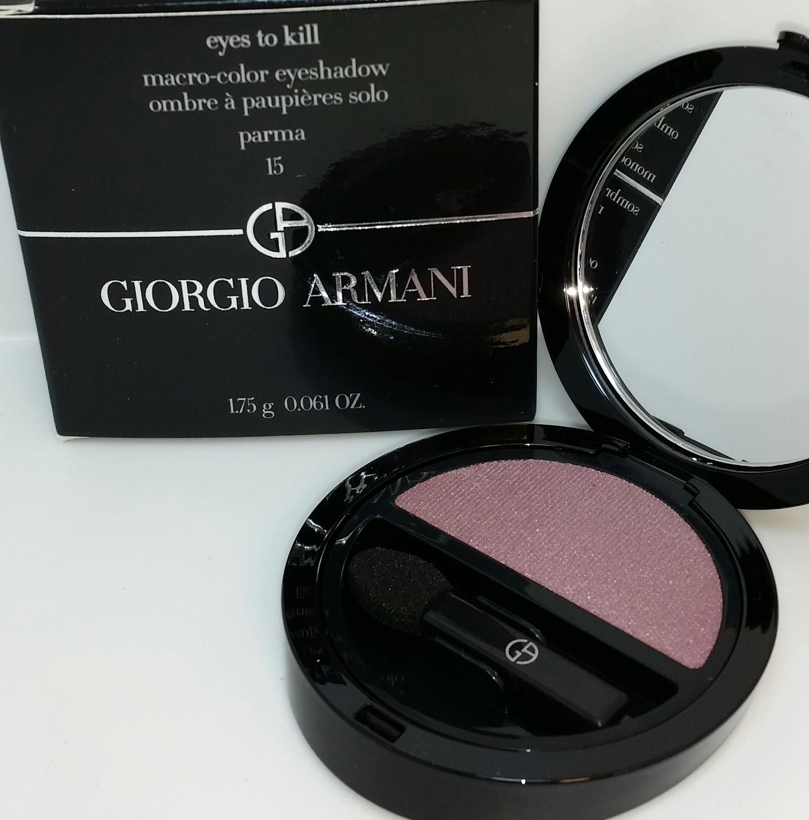 Giorgio Armani 9 Tadzio Eyes To Kill Solo Eyeshadow review