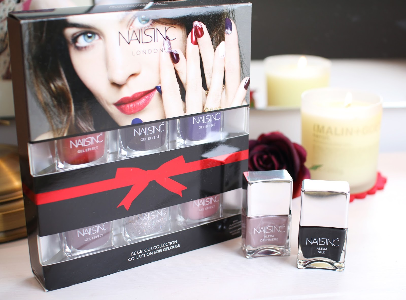 Be Gelous Alexa Nail Set