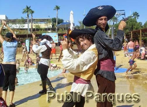 Fiesta pirata para los niños en Aqua Natura Benidorm