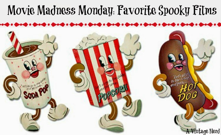 A Vintage Nerd, Classic Film Blog, Old Hollywood Blog, Classic Spooky Films, Vintage Blog