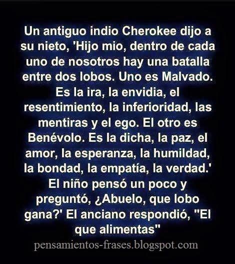 frase cherokee