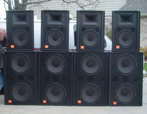 DJ Subwoofer Speakers eBay