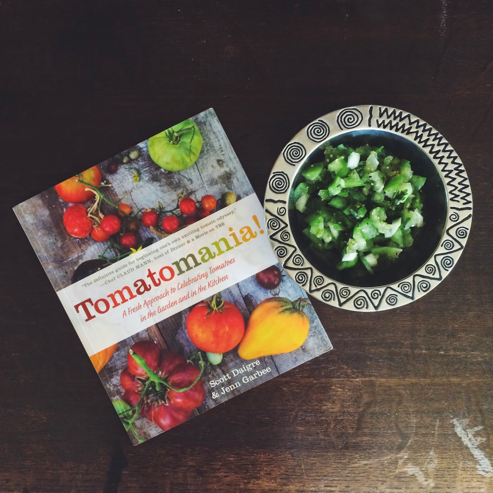 Green Salsa, Tomatomania!, Cookbook, Recipe, Tomatos