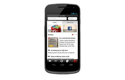 Opera Mini version 7.5 Smart Page