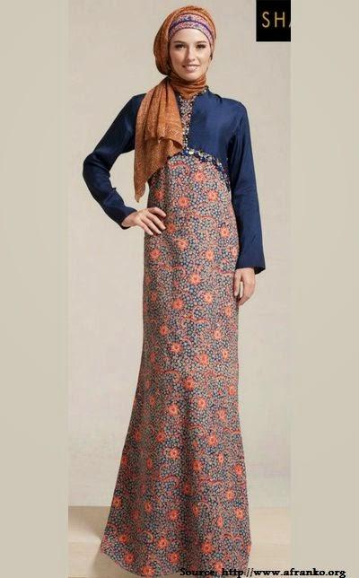 Modele hijab robe  2014
