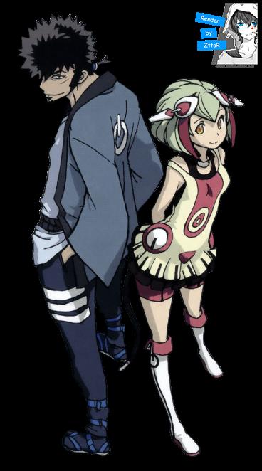 Render Mabuchi Kyouma & Yurizaki Mira