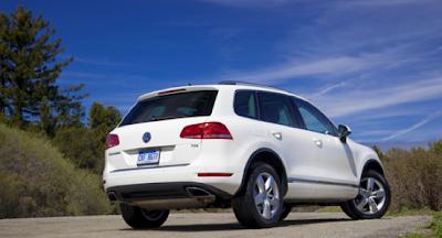 2012 Volkswagen Touareg TDI White