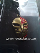 Bleach Hollow Half Mask Keychain