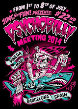 PSYCHOBILLY MEETING Pineda de Mar • New logo for the next 2014 Festival