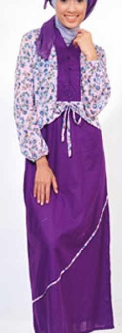 Model Baju Gamis Remaja Modern Gaul Dan Trendy