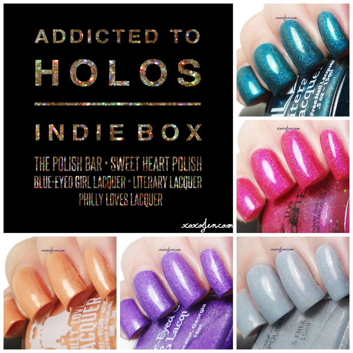 xoxoJen's collage of Addicted to Holos June Box