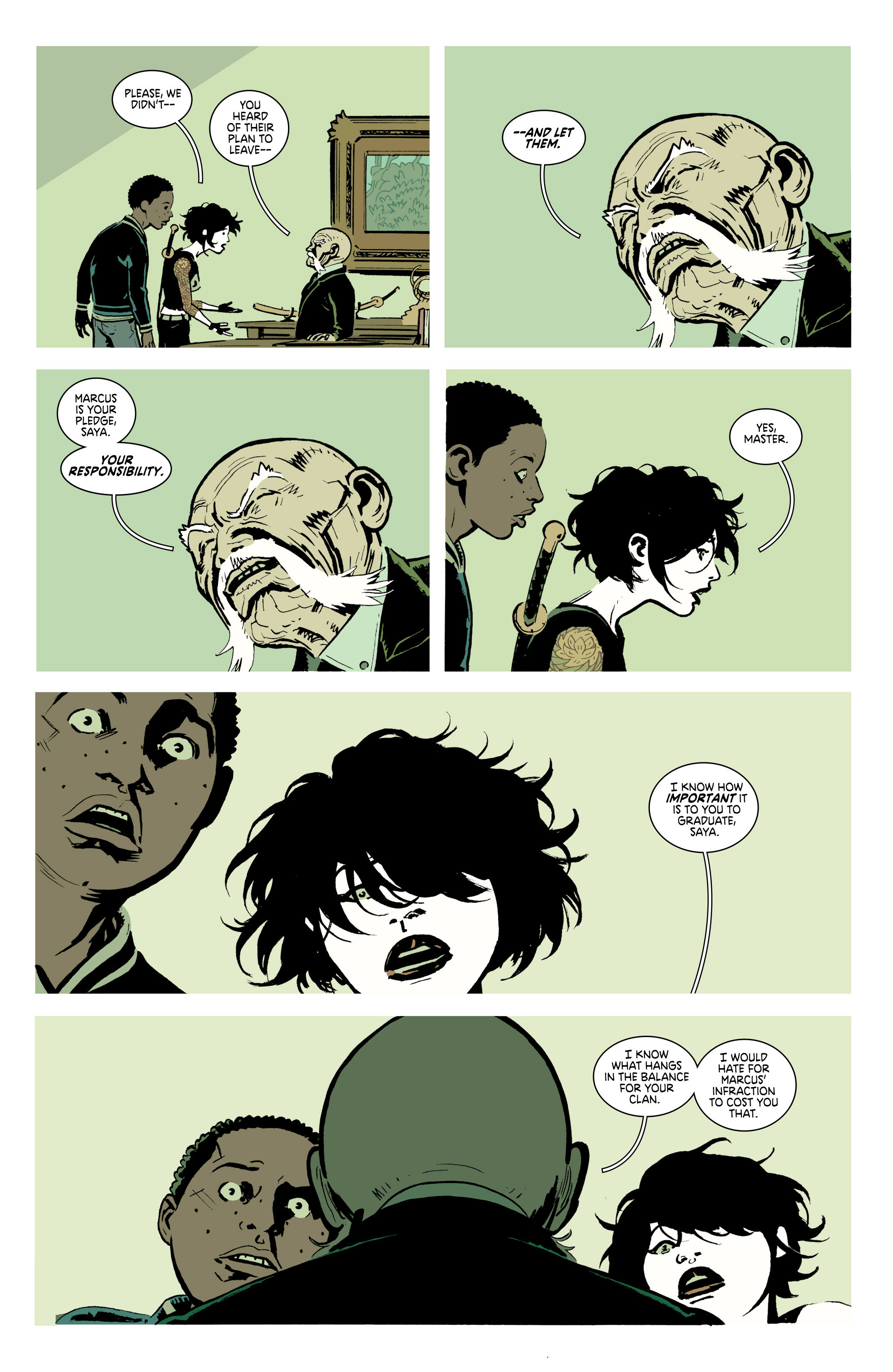 Read online Deadly Class comic -  Issue #18 - 22