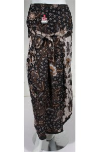 Rok Batik Cantik Alda - Hitam (Toko Jilbab dan Busana Muslimah Terbaru)