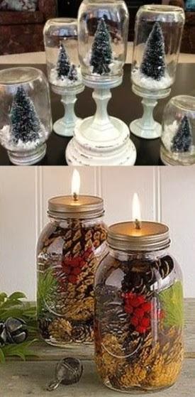C mo decorar tu casa en navidad por 50 euros alquiler de for Decoracion con pinas secas