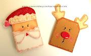 Manualidades con niños para Navidad patito