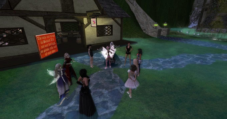 Meeting at Pink Unicornio Tavern at Aldorion