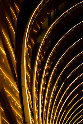 Lumini abstract la Intercontinental Bucuresti
