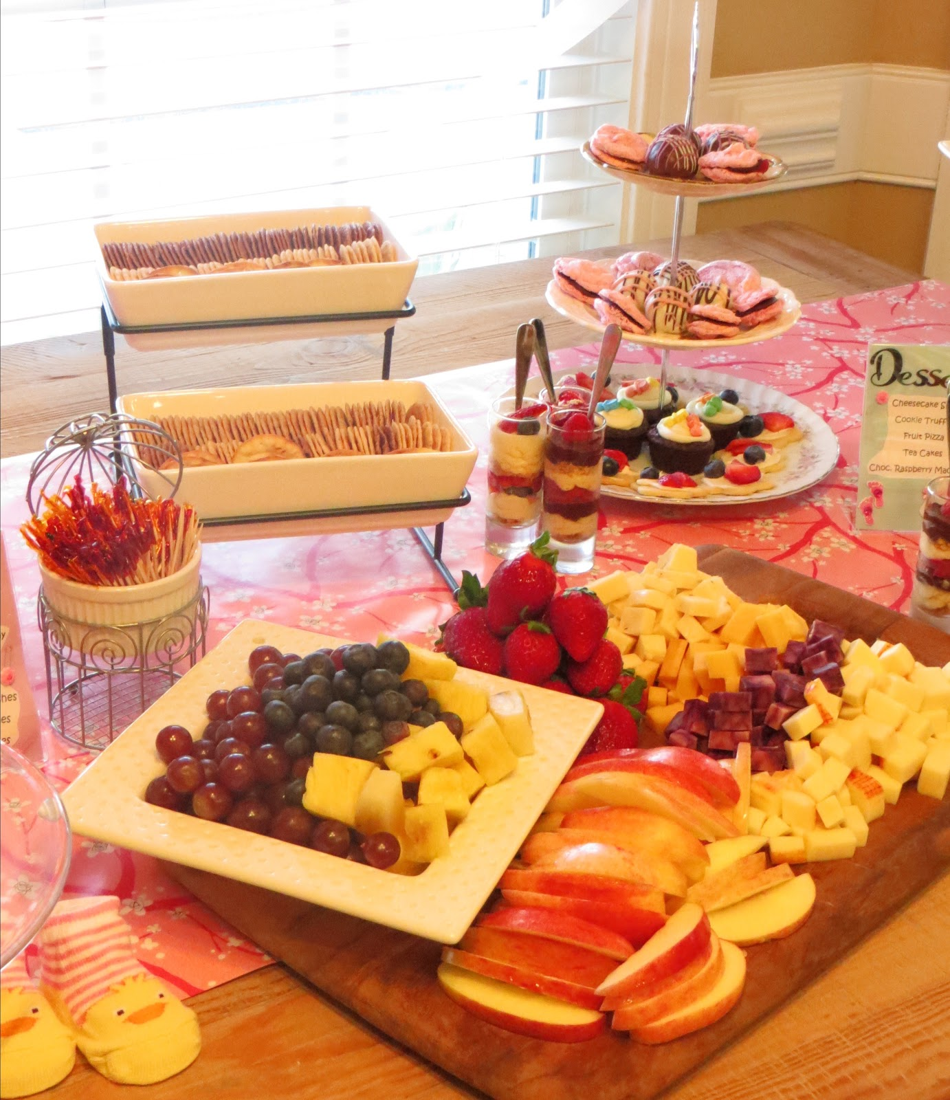 Goo s by Design Tea Party Baby Shower