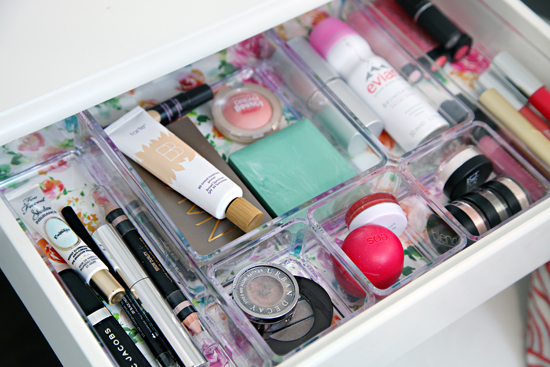 Up Until This Point, I Hadnu0027t Purchased A Single Thing To Re Organize The  Space, But Those Acrylic Organizers Are Amazing For Makeup So I Didnu0027t Mind  The ...