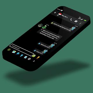 BBM Black Monster Inc. Versi 2.9.0.51 Apk Terbaru