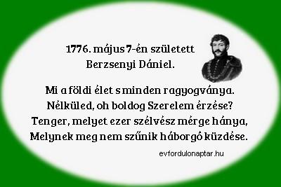 Berzsenyi Dániel magyar költő