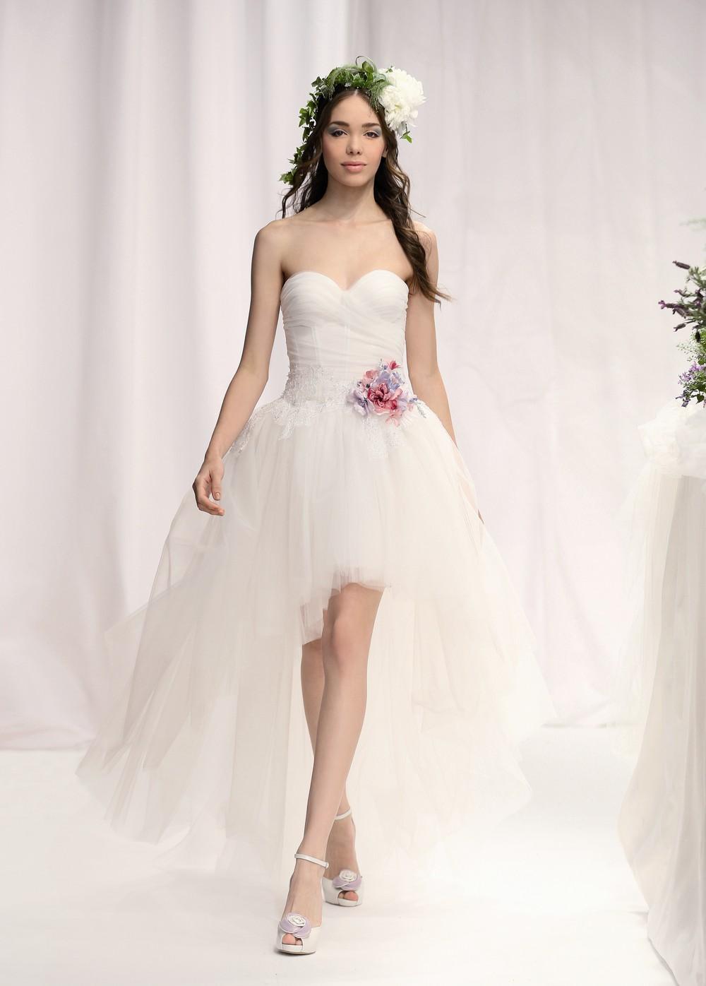 Brautkleider Mode 2013