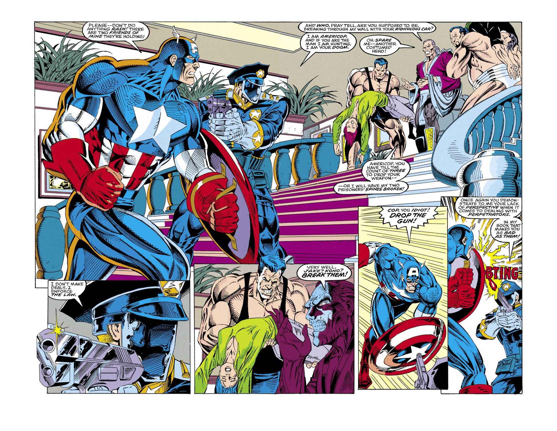 Captain America (1968) Issue #430 #380 - English 3