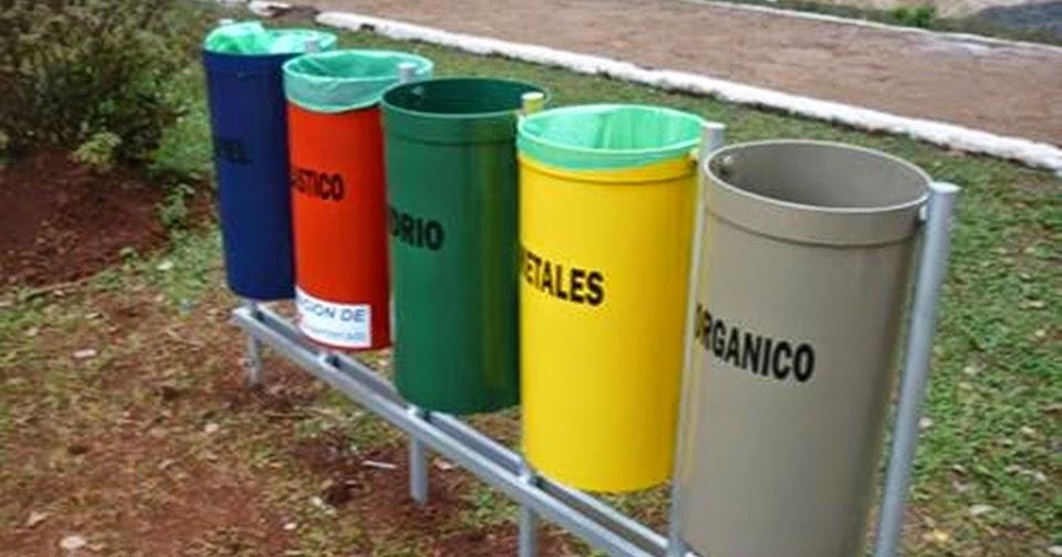 Concejales piden separacion residuos domiciliarios - Colores para reciclar ...
