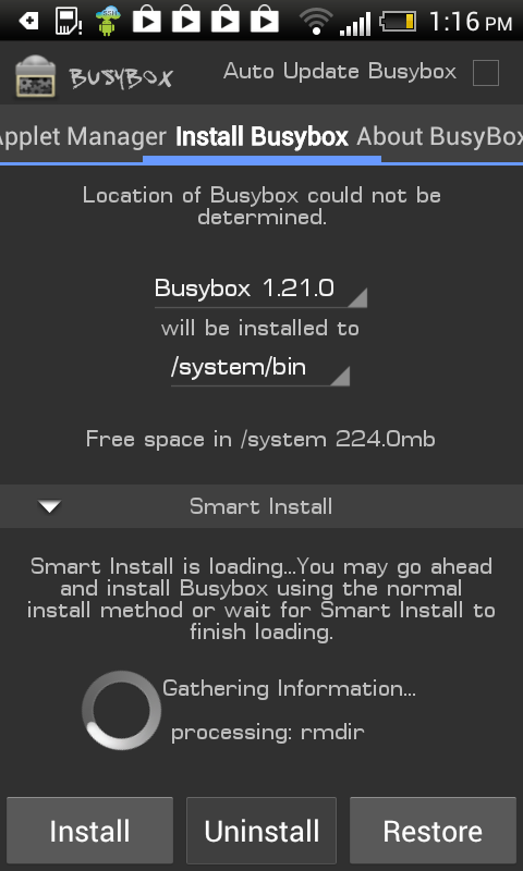 testing by expl0i13r android busybox and linux commands