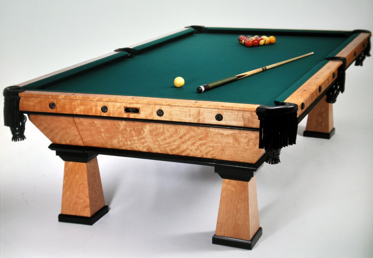 Dorset custom furniture a woodworkers photo journal all the pretty pool tables - Photos of pool tables ...