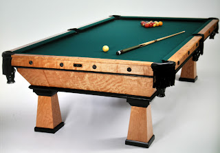 Woodshop Plans All The Pretty Pool Tables - First pool table
