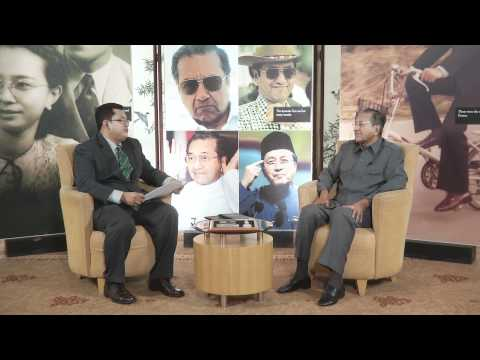 Bicara DINAR bersama Y.A.Bhg. Tun Dr. Mahathir Mohamad