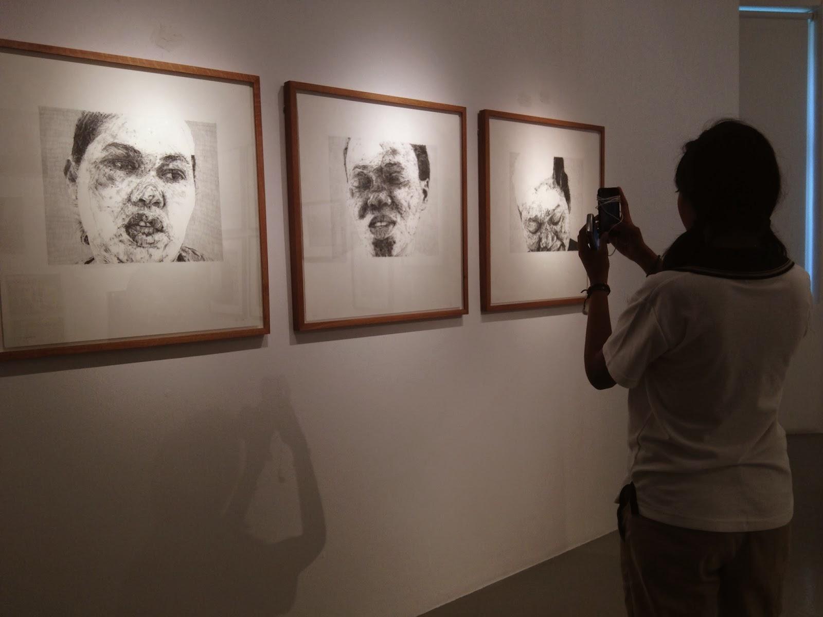 gabriel goliath's faces of war goodman gallery johannesburg