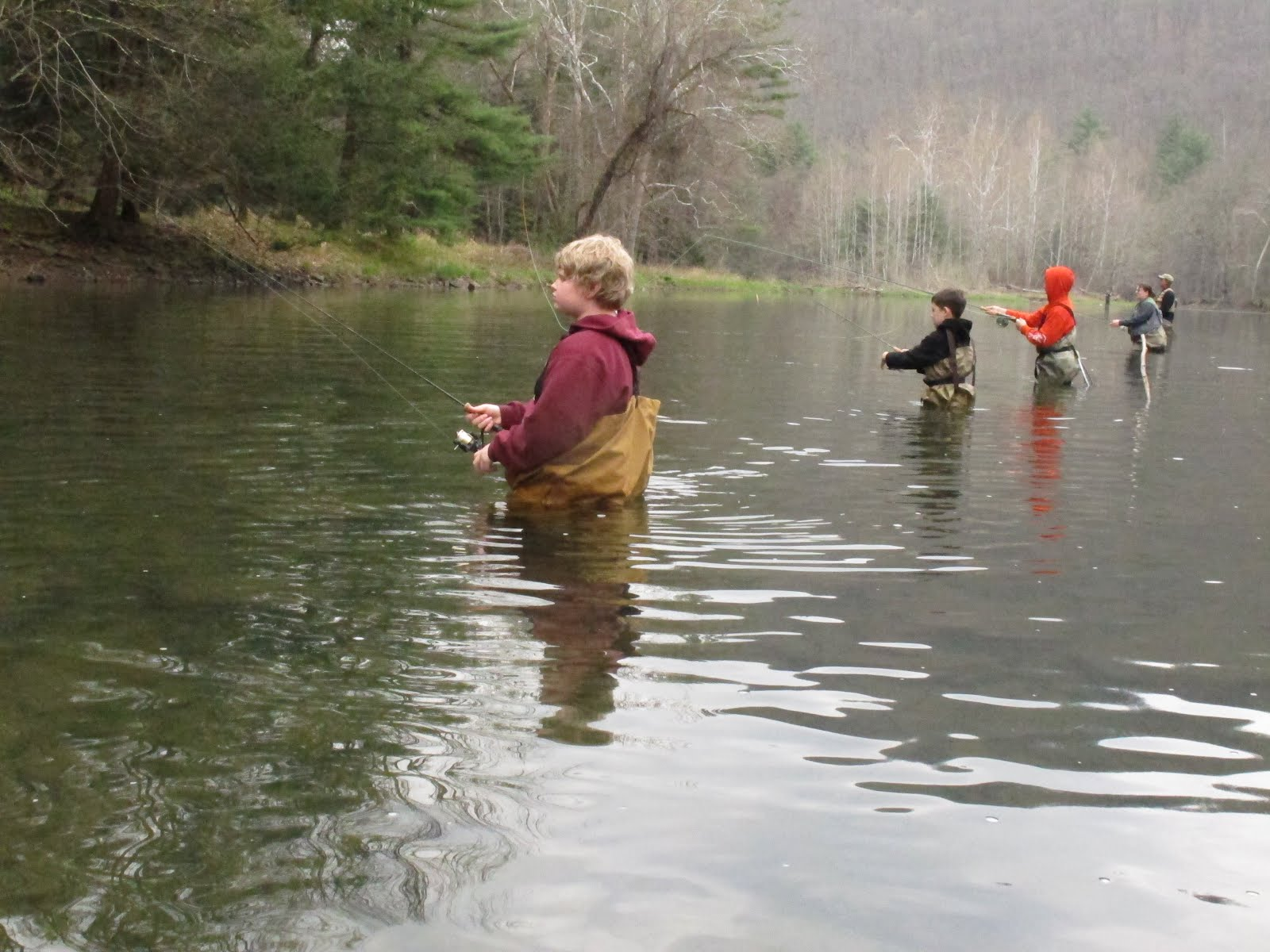 Chagrin river outfitters ohio steelhead smallmouth and for Pa fishing season
