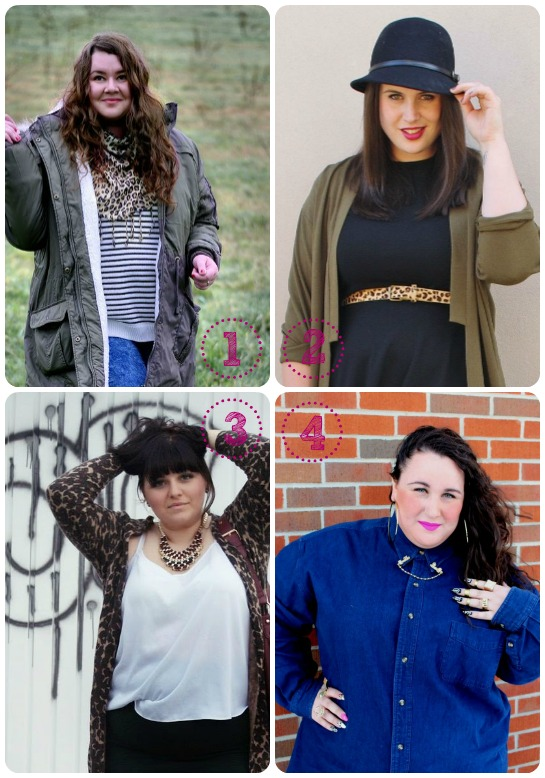 -Vistiendo curvas- Accesorios alrededor del mundo: Joanna de The Plus Size Blog, Ashley de Ashley Rose, Ela de The Fatshion Cafe y Alysse de Ready to Stare   www.curvaslibres.com