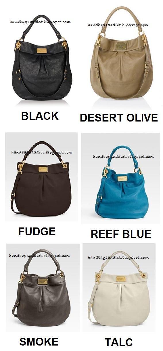 fdff04ac812 Handbags Addict: Marc by Marc Jacobs - Classic Q Hillier Hobo