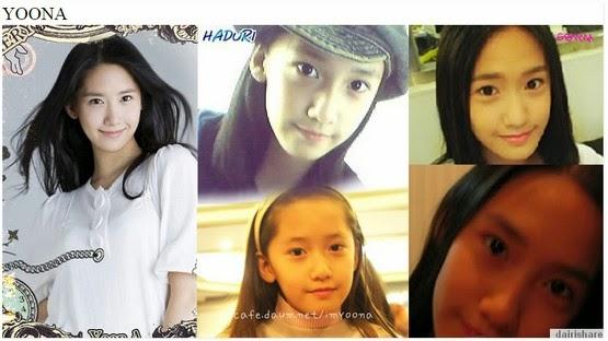 gambar artis wanita korea yang pernah melakukan pembedahan