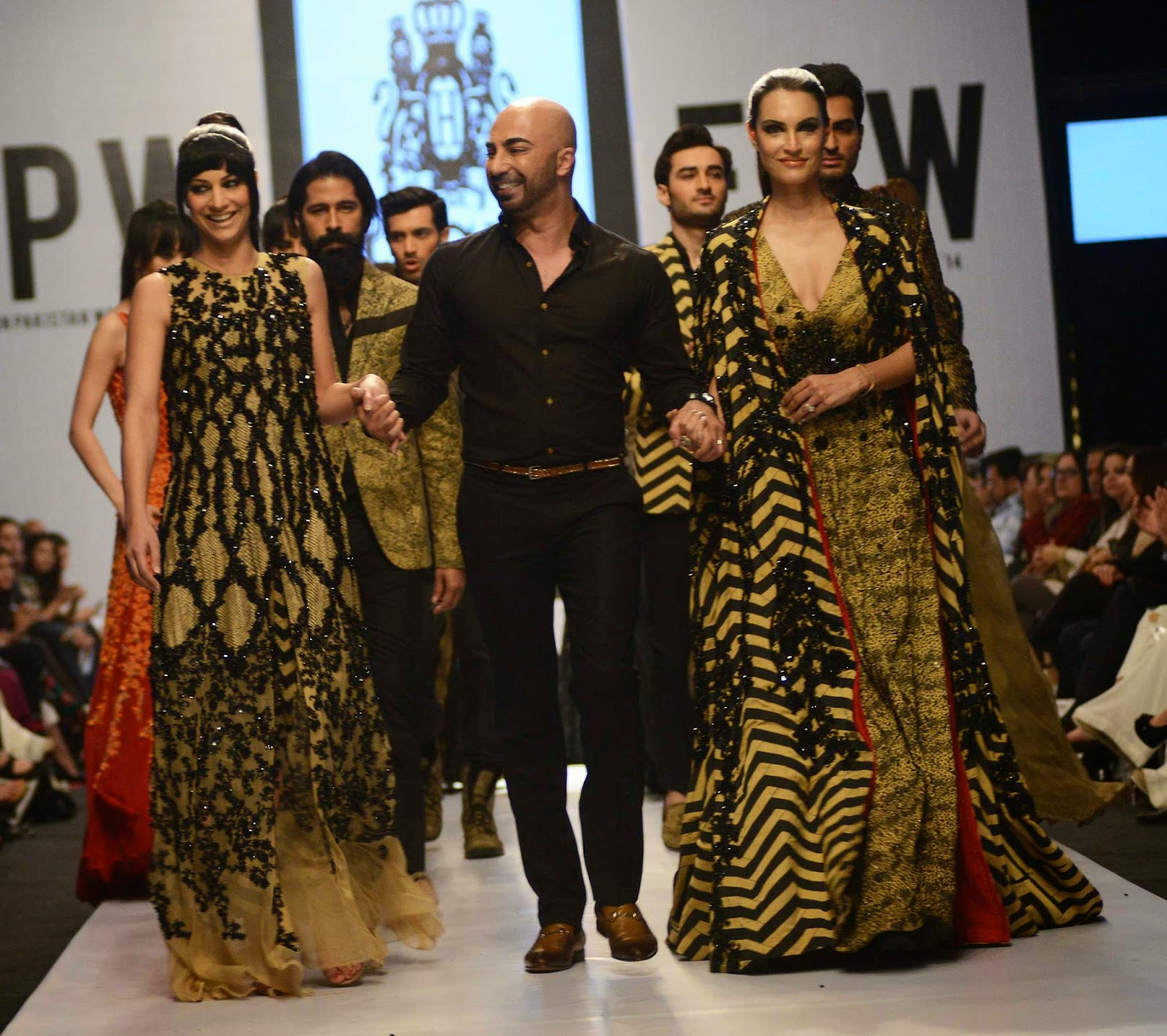 HSY FPW 6 Fashion Pakistan Week 2014 - Hassan Sheheryar Yasin Venom colle