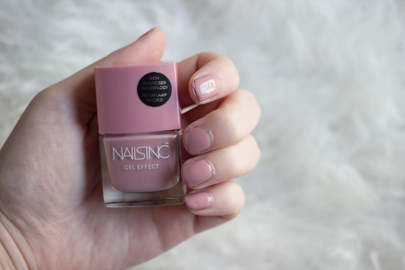 The January Mani: Nails Inc Uptown - Jaye Rockett