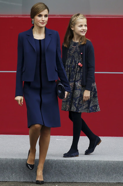 Queen Letizia of Spain, Princess Sofia of Spain and Princess Leonor