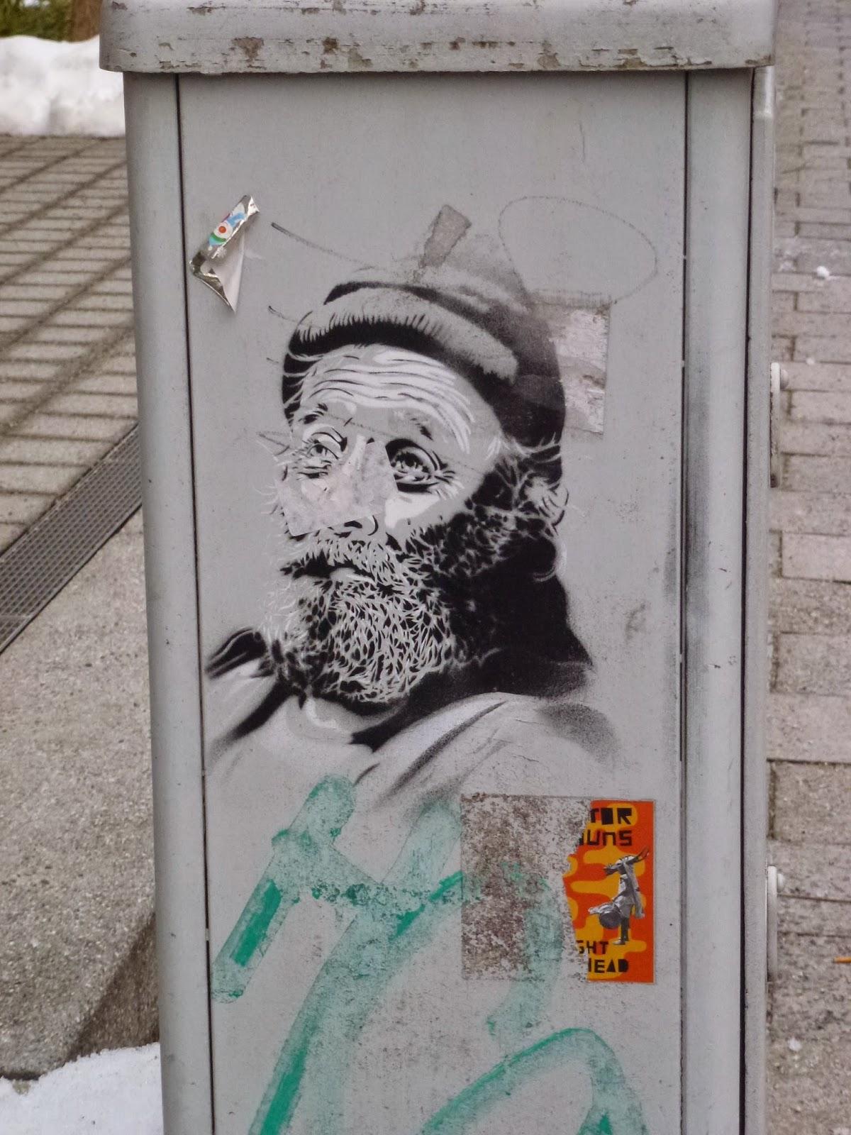 Streetart, Urbanart, Graffiti, Stencil, Schablonen
