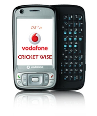 Cricket Wise Vodafone mobile blogging
