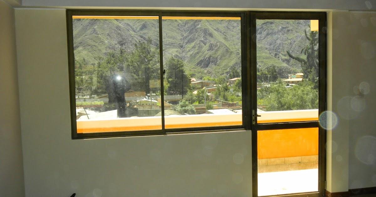 Puerta ventana de aluminio alvitec aluminio vidrio - Puerta de aluminio con vidrio ...