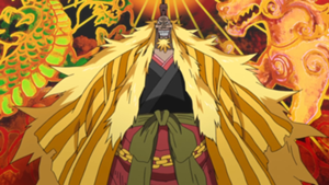 One Piece Shiki the Golden Lion
