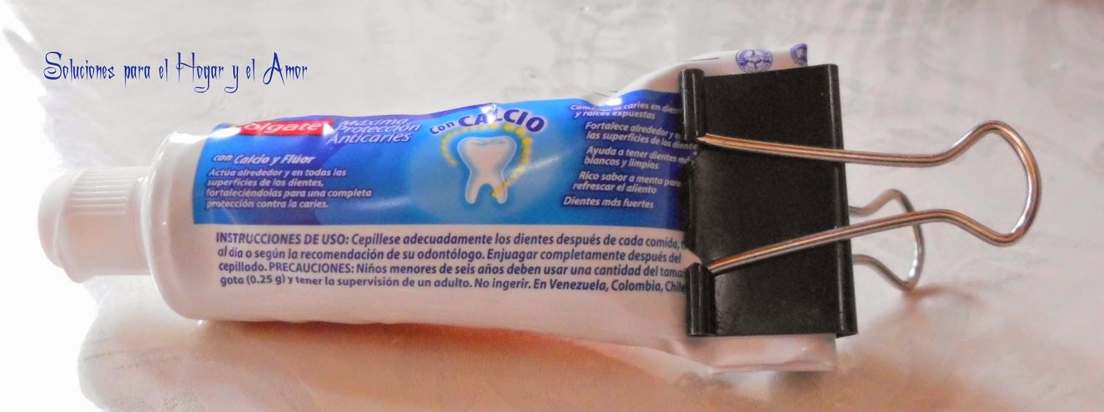 Como Sacar toda la Pasta del Tubo, pasta de dientes, ahorrar pasta